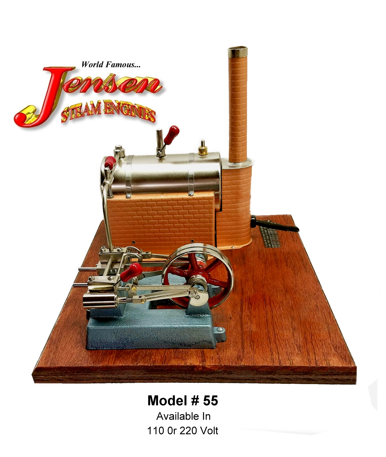 Jensen Hobby and Educational Steam Engines